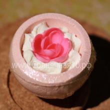 """Десерт-шарик  для ванн комбинированный """"Розовая мечта"""""""