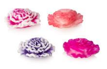 """Мыло ручной работы """"Цветок 3D гвоздика"""""""
