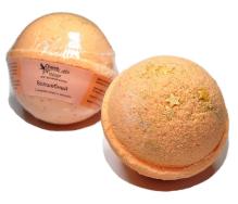 """Гейзер (бурлящий шарик) для ванн праздничный """"Волшебный"""" с морской солью и маслами"""