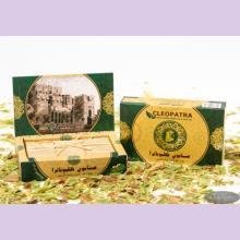 Набор мыла в картонной подарочной коробке, оливковое с лавровым маслом